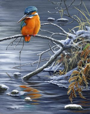 JP58 Winter Fishing 17x12cm £15