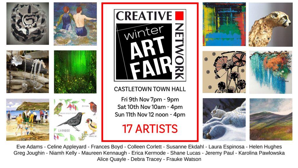 Winter art fair – Castletown Nov 9th-11th