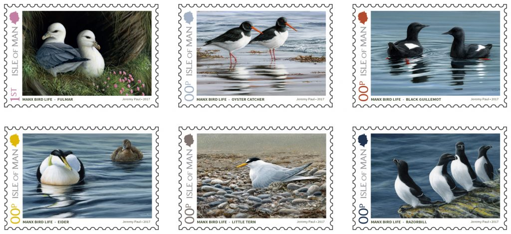 coastal bird stamps 2